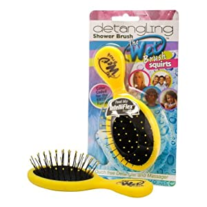 The Wet Brush Squirts Detangling Shower Mini Brush - Yellow