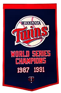 MLB Minnesota Twins Dynasty Banner by Winning Streak