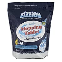 Fizzion Mopping Tablet - Professional Industrial Floor Cleaner - Commercial Grade Cleaning Solution