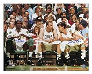 Boston Celtics Kevin McHale and Robert Parish Autographed 16 x 20 Photo - - Memories... by Sports Memorabilia