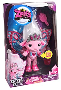 Amazon.com: The Zelfs Light Up Zelf Princess Crystella Crystal Gemz