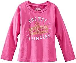 OshKosh B39Gosh Big Girl39s Pink LS Pretty Princess Tee