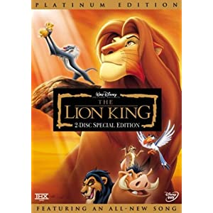 The Lion King (Disney Special Platinum Edition)