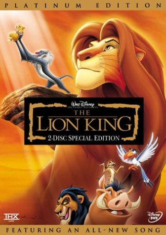 Lion King [DVD] [1994] [Region 1] [US Import] [NTSC]