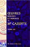 echange, troc Jacques Cazotte - ?uvres badines et morales de Mr. Cazotte: Tome 7