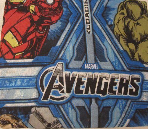 Marvel The Avengers Cotton Rich Sheet Set, Full
