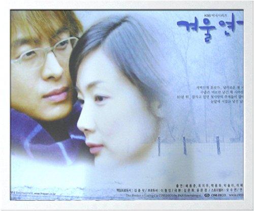 韓流スター「ペ・ヨンジュン」冬のソナタ・ミニポスター額付