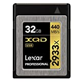 Lexar Professional 2933x XQD 2.0カード 32GB (最大読込 440MB/s、最大書込 390MB/s)[国内正規品] 無期限保証 LXQD32GCRBJP2933