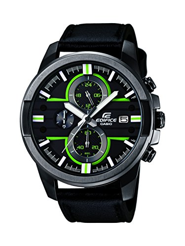 Casio Casio Edifice Analog Black Dial Men's Watch - EFR-543BL-1AVUDF(EX225)