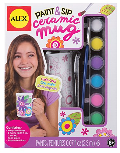 ALEX Toys Craft Paint & Sip Ceramic Mug