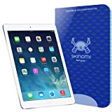 Skinomi Tech Glass - Apple iPad Air Glass Screen Protector with LifeTime Replacement Warranty / Ultra Thin (.33mm Thickness) Premium Tempered Glass - Crystal Clear 9H Hardness with Oleophobic Coating - 99% Clarity and Touchscreen Accuracy - Retail Packaging