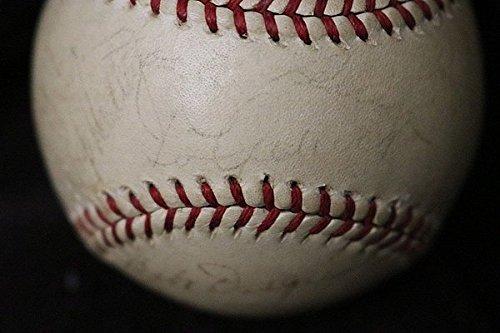 Lou Gehrig Signed 1938 World Champs New York Yankees Baseball