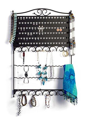 mango-steam-wall-mounted-jewelry-earring-organizer