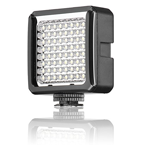 Green House 64 Leds Kit Professionale Studio Illuminazione fotografica Lampada Continua Set per Fotografia e Video - 0.1KG 6W 800LM