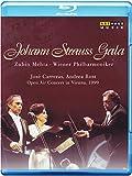 Strauss:Johann Strauss Gala [Zubin Meta, Andrea Rost; Jose Carreras; Wiener Philharmoniker] [ARTHAUS : BLU RAY] [Blu-ray] [2015]