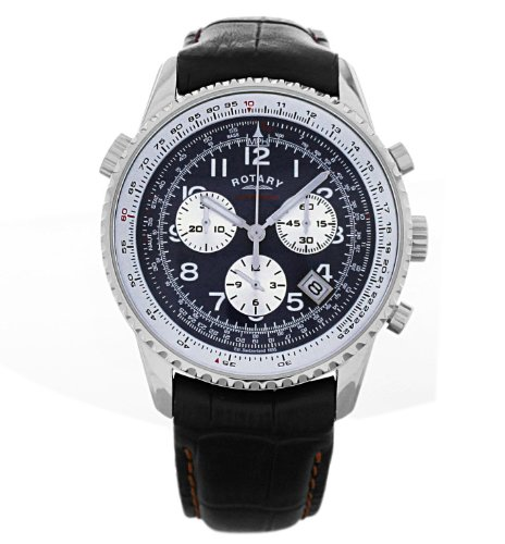 Rotary Men s Chronograph Strap Watch GS30002 04   Amazon price tracker    Rotary Watches Price