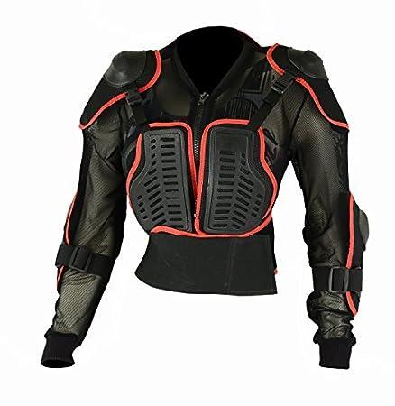 Enfants Enfant Armure Corporelle Motocross Veste Chest Dos Coude Épaule Protection
