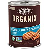 Castor & Pollux Organix Chicken and Brown Rice Adult Dog Food, 12.7 Ounce Cans (Pack of 12)