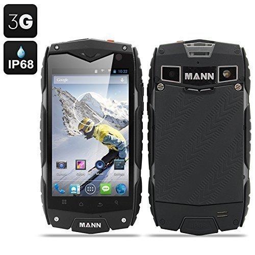 MANN ZUG 3 Smartphone Android 4.3 Tri-Proof DUAL SIM 3G IP68 Impermeabile Antiurto Antipolvere CPU QUAD CORE (COLORE GRIGIO)
