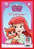 Paper Magic 32CT Showcase Disney Princess Kids Classroom Valentine Exchange Cards
