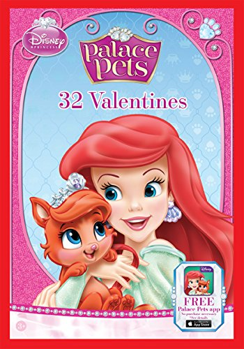Paper Magic 32CT Showcase Disney Princess Kids Classroom Valentine Exchange Cards