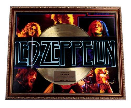Led Zeppelin Iv Gold Record Award Non-Riaa - To John Bonham Lp