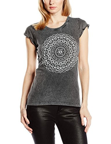 Bring Me The Horizon Kaleidoscope Acid Wash-T-shirt  Donna, Anthrazit, Large