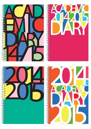 2014-2015 Wiro Akademischer Studenten Kalender WTV A5 Kalender - Script Design