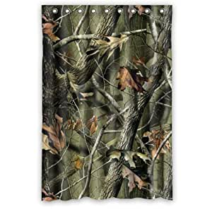 Camouflage Shower Curtain Fashion Camouflage Camo Tree Bathroom Shower Curtains