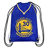 Golden State Warriors Official NBA Drawstring Backpack Gym Bag - Stephen Curry
