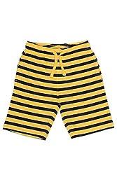 Chalk by Pantaloons Boy's Cotton Shorts (205000005605593, Yellow, 4-5 Years)