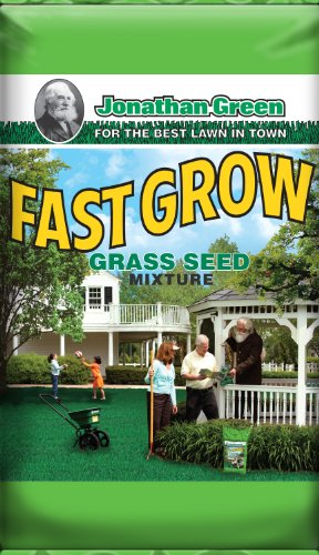 Jonathan Green 10810 Fast Grow Grass Seed Mixture, 25-Pound image