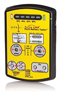 ZTS Mini Battery Tester (MINI-MBT) Bundle with Protective Soft Case for MINI-MBT Battery Tester