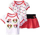 Disney Baby-Girls  Minnie Mouse 3 Piece Set