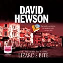 The Lizard's Bite: The Rome Series: Book 4 (       UNABRIDGED) by David Hewson Narrated by Saul Reichlin