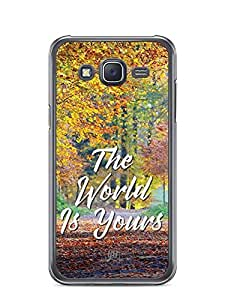 YuBingo The World is Yours Designer Mobile Case Back Cover for Samsung Galaxy J5