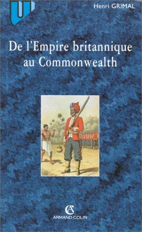 De Lempire Britannique Au Commonwealth Pdf Télécharger De Henri