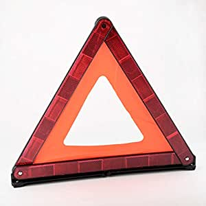 Heavy Duty Emergency Warning Triangle with Case