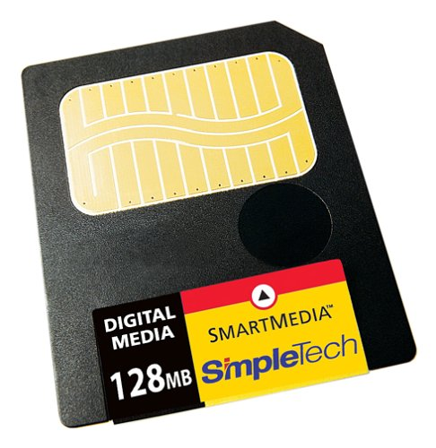 Cheapest Prices! SimpleTech STI-SM3/128 128MB SmartMedia Card