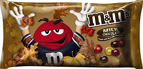 M&M's Milk Chocolate Candy Fall Harvest Blend, 11.4 Ounce Bag