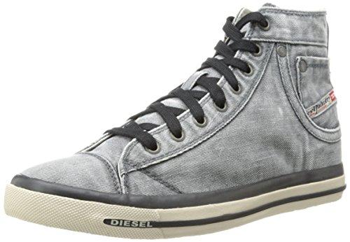 Diesel Men's Exposure I M Fashion Sneaker,Black,10 M US