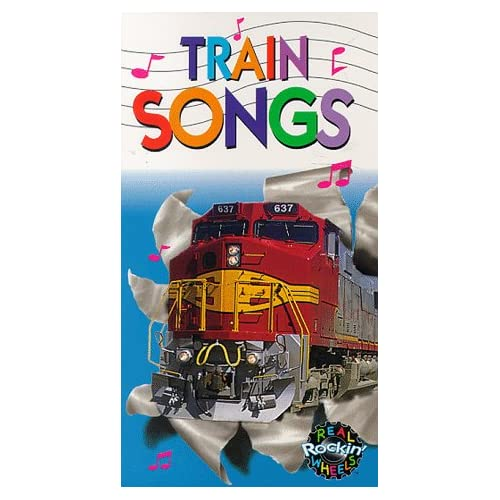 Amazon.com: Real Rockin Wheels: Train Songs [VHS]: Real Rockin' Wheels