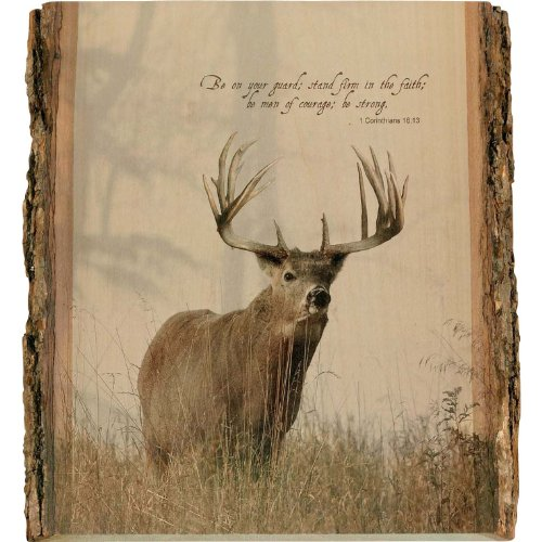 Legendary Whitetails Natural Wood Wall Art