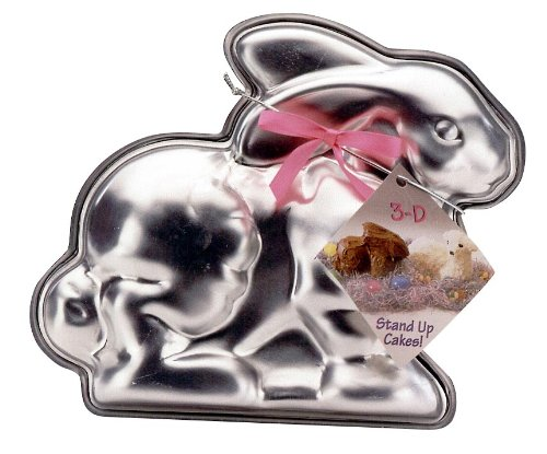 Nordic Ware Easter Bunny 3-D Cake Mold (Rabbit Cake Pan compare prices)
