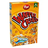 Post Waffle Crisp Cereal, 13.75-Ounce Boxes (Pack of 5)