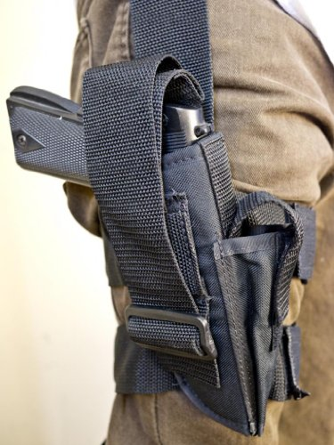 OUTBAGS OB-04TAC (LEFT) Nylon Tactical Drop Leg Holster with