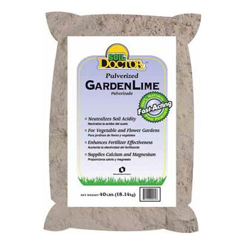 Oldcastle Soil Doctor 50051550 Pulverized Garden Limestone, 40-Pound