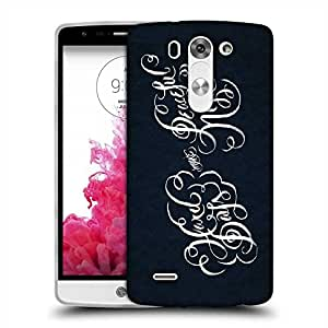 Snoogg Peaceful Designer Protective Back Case Cover For LG G3 BEAT STYLUS