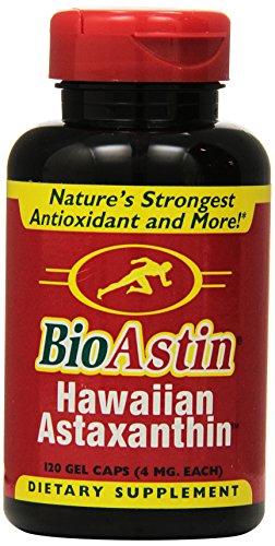 Nutrex Hawaii BioAstin Hawaiian Astaxanthin, 120 Gel Caps supply, 4mg Astaxanthin per Serving