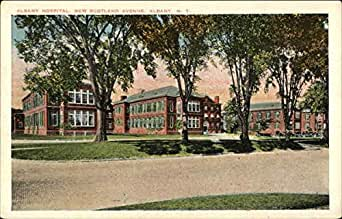 Albany Hospital, New Scotland Avenue Albany, New York Original Vintage